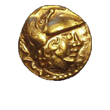 Keltský Statér (1. pol. 2. stor. pr. Kr.)