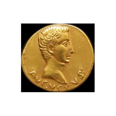 Aureus - Augustus (27 pr. Kr. – 14 po Kr.) Rím