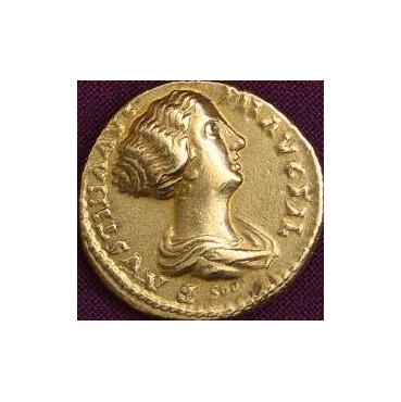 Aureus – Faustina ml. (161-175 po Kr.) Rím