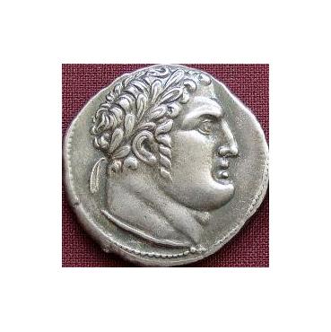 Judášových 30 strieborných – Šekel (100 pr. Kr.) Palestína - cínová replika