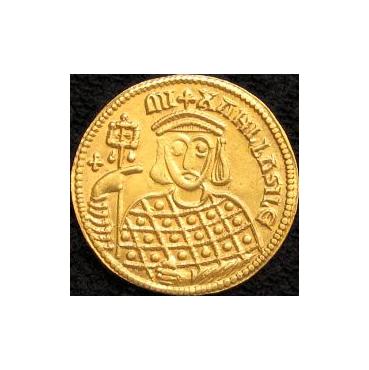 Solidus Michal III. (842 – 867 pr. Kr.) Byzancia