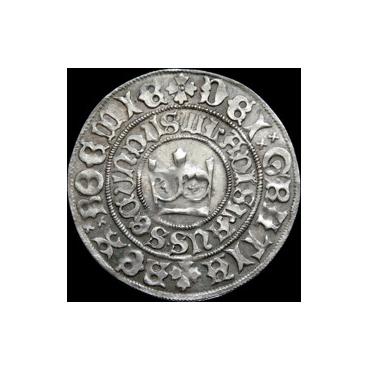 Pražský groš Vladislav II. Jagelovský (1471 – 1516)