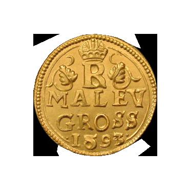 Zlatý Malý groš Rudolf II. – limitované vydanie