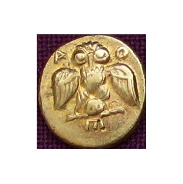Obol Atény (5. stor. pr. Kr.) Grécko