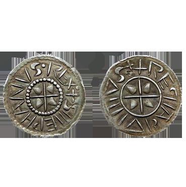 Denár Štefan I. Svätý (997 - 1038) Uhorsko