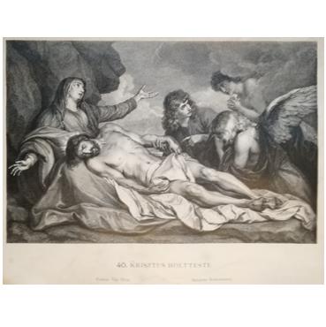 Mŕtvy Ježiš - grafika