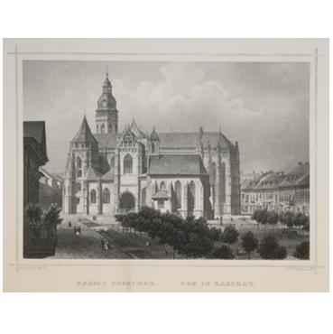 Dóm sv. Alžbety, Košice - grafika